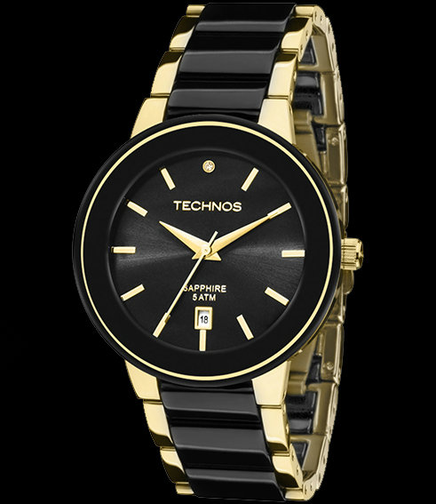 a5794cbc37c34 Relógio Technos Feminino - Ceramic - 2115KRS 4P Technos na Lorenzo Jóias