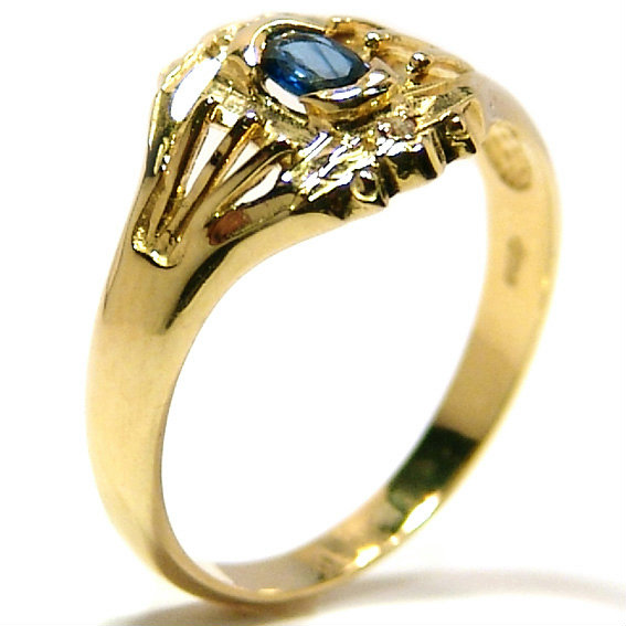a5372528a768d Anel em ouro 18k com diamantes e safira - 2ABS0061 Safira na Lorenzo ...