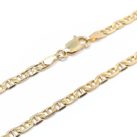 Corrente de ouro amarelo 18k - Cadeado -Masculina - 60 cm Ouro ... e8e1857cf4