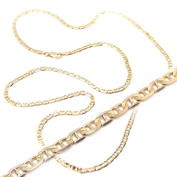 cc73dc6c01140 Corrente de ouro amarelo 18k - Cadeado -Masculina - 60 cm Ouro ...