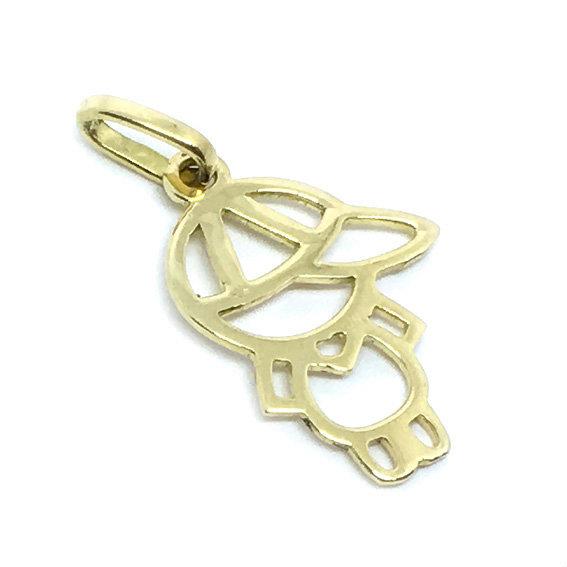 71626410bd6df Pingente em ouro 18k - Boneco - 2PEO0121 Ouro Amarelo na Lorenzo Jóias