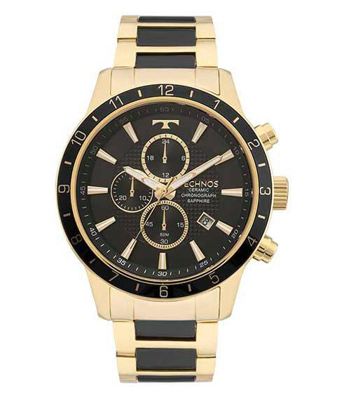 Relógio Technos Masculio - Ceramic Saphire - JS15FI 4P Technos na ... ce775df286