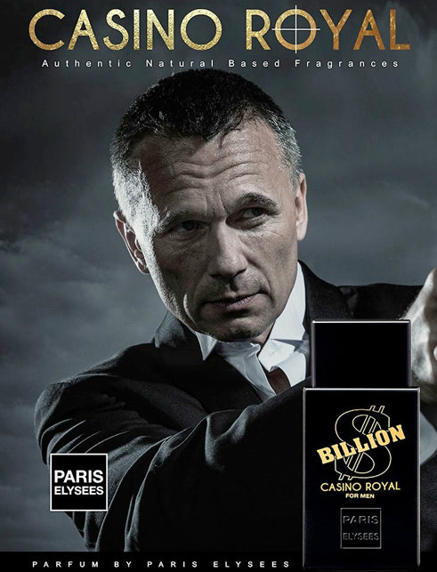 Perfume Billion Casino Royal Masculino