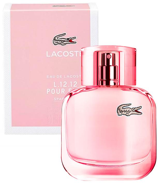 4dfe9aab18872 Perfume Eau de Lacoste L.12.12 Pour Elle Sparkling Feminino Lacoste ...