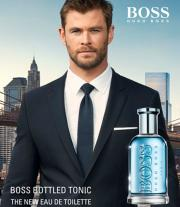 Perfume Boss Bottled Tonic Masculino Eau de Toilette 50ml + Caneta Hugo Boss