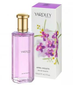 Perfume April Violets Yardley Feminino Eau de Toilette 125ml