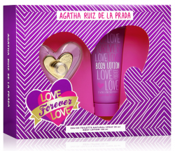 Coffret Love Forever Love Feminino EDT 80ml + Body Lotion 100ml