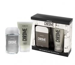 Kit Chrome Fiorucci Masculino Deo Colônia 100ml + Shower Gel 150ml