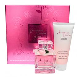 Coffret Mirage World Feminino EDP 100ml + Hidratante 100ml