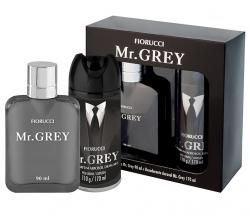 Kit Mr. Grey Fiorucci Masculino Deo Colônia 90ml + Deo 110g - 170ml