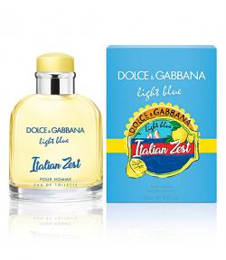 Perfume Light Blue Italian Zest Masculino Eau de Toilette 125ml