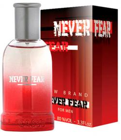 Perfume Never Fear Masculino Eau de Toilette 100ml