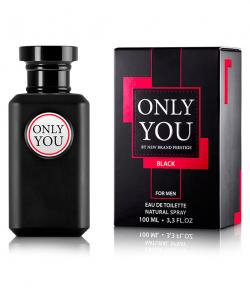 Perfume Only You Black For Men Masculino Eau de Toilette 100ml + Perfume Extreme Sport Fiorucci 10ml
