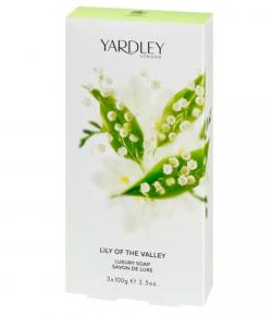 Sabonete Lily of the Valley Feminino Cx. tradicional 3 unid. de 100g