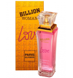 Perfume Billion Woman Love Feminino Eau de Toilette 100ml