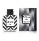 Perfume Story Of New Brand White Masculino Eau de Toilette 100ml