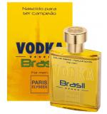 Perfume Vodka Brasil Yellow Masculino Eau de Toilette 100ml